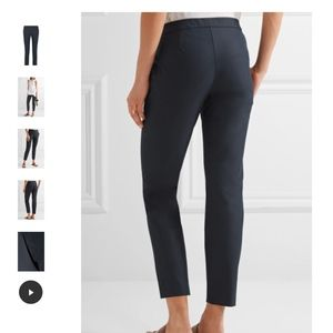Navy Theory cotton stretchy pull-on cropped pants